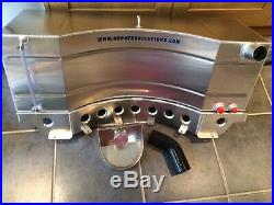 12 Gallon Ford Escort Mk1/2 Alloy Injection Fuel Tank kit Alloy Stand Rally Race