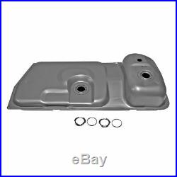 15.4 Gallon Fuel Gas Tank with Strap Set for Mustang Capri
