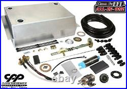 1967-72 Chevy C10 GMC Fuel Injection EFI Aluminum Gas Tank Kit Bed Fill 90ohm