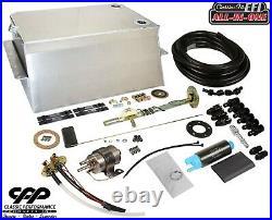 1967-72 Chevy GMC Suburban Fuel Injection EFI Aluminum Gas Tank Kit 90 ohm