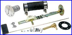 1973-87 Chevy GMC Squarebody Fuel Injection EFI Aluminum Gas Tank Kit Bed Fill