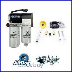 Airdog II-4G 165 GPH Lift Pump & RDP Sump For 2001-2010 Chevy/GMC 6.6L Duramax