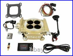 FITech Fuel Injection 30005 Easy Street EFI Throttle Body System Kit 600 HP Clas