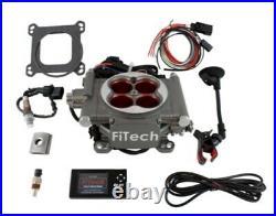 FITech Fuel Injection 31003 GoStreet EFI Throttle Body Master Kit 400 HP Natur