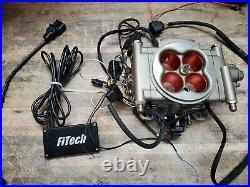 FiTech 30003 Go Street 400 HP EFI Throttle Body Fuel Injection Converter Kit