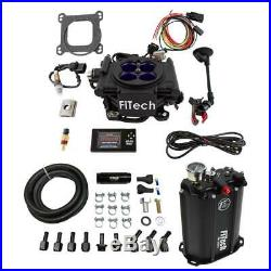 FiTech Fuel Injection Master Kit 35208 Mean Street EFI, Force Fuel 800 HP Black