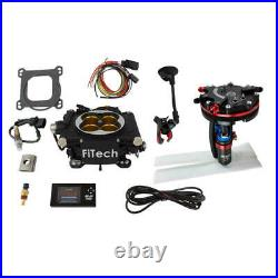 FiTech Fuel Injection System 37012 Go EFI 8 P/A & Hy-Fuel Dual Pump Master Kit
