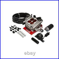 FiTech Fuel Injection System Kit 31003 Inline Pump & Go-Street 400 hp TBI Satin