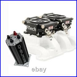FiTech Go EFI 2x4 Dual-Quad Fuel Injection Syst. Kit withG-Surge Ta