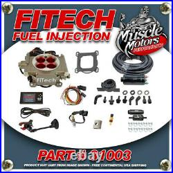 FiTech Go Street EFI Fuel Injection System Master Kit with Inline Fuel Pump 31003