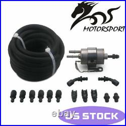 Fuel Injection Line Fitting Adapter Kit EFI FI with Filter/Regulator LS Conversion