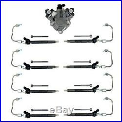 Fuel Injection Pump & Injector Feed Lines/Nozzles For 11-19 Ford 6.7 Powerstroke