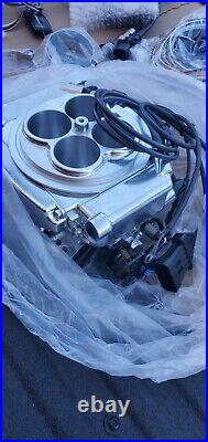 Holley Sniper 550-510 EFI Self Tuning Fuel Injection Base Kit With Shiny Finish