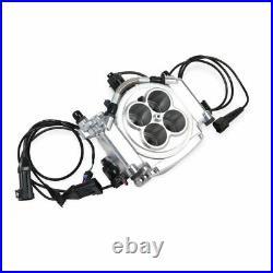 Holley Sniper 550-510K TBI EFI Fuel Injection Master Conversion Kit Polished