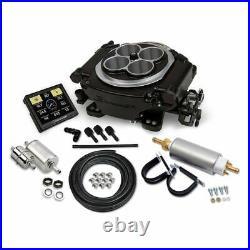 Holley Sniper 550-511K TBI EFI Fuel Injection Self-Tuning Master Kit Black