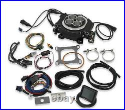 Holley Sniper Black 4 Barrel Fuel Injection Conversion Self-Tuning Kit 550-511