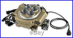 Holley Sniper EFI 550-516K 4 Barrel Fuel Injection Conversion Master Kit Gold
