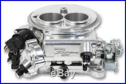 Holley Sniper EFI 550-849 2 Barrel 2300 Polished Self Tuning Fuel Injection Kit