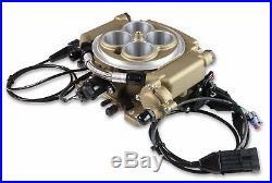Holley Sniper EFI Fuel Injection Conversion Kit SBC SBF BBF BBC 550-516 Gold