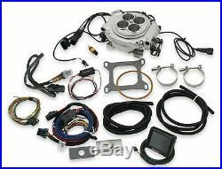 Holley Sniper EFI Fuel Injection Conversion Kit SBC SBF BBF BBC SHINY
