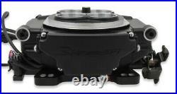 Holley Sniper Efi Self-tuning Kit, Black, 4-brl, Fuel Injection Conversion, 800 Cfm