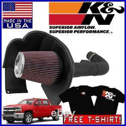 K&N AirCharger Cold Air Intake System 2014-2018 Chevy Silverado 1500 4.3L V6