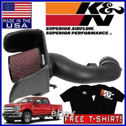 K&N AirCharger Cold Air Intake System 2017-2019 F-250 F-350 F-450 6.7L V8 DIESEL