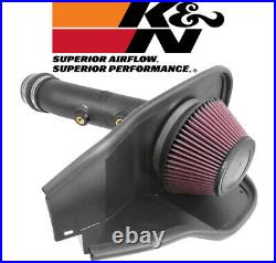 K&N AirCharger Cold Air Intake System Kit fits 2014-2019 Ford Fusion 1.5L L4