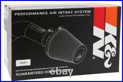 K&N AirCharger Cold Air Intake System Kit fits 2016-2019 Cadillac ATS 2.0L L4