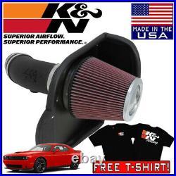 K&N AirCharger Cold Air Intake System fits 2011-2020 Dodge Challenger 6.4L V8