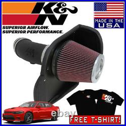 K&N AirCharger Cold Air Intake System fits 2012-2020 Dodge Charger 6.4L V8