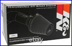 K&N Blackhawk Cold Air Intake System 09-13 Silverado 1500 4.8L/5.3L/6.0L/6.2L V8