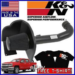 K&N Blackhawk Cold Air Intake System 2014-2019 Chevy Silverado 1500 5.3L / 6.2L