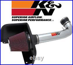 K&N Cold Air Intake System 2009-2013 GMC Sierra 1500 4.8L / 5.3L / 6.0L / 6.2L