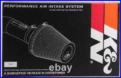 K&N Cold Air Intake System fits 2015-2016 Silverado 2500HD / 3500HD 6.6L DIESEL