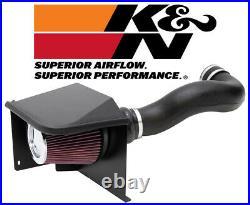 K&N FIPK Cold Air Intake System 2007-2008 Cadillac Escalade / ESV / EXT 6.2L V8