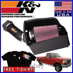 K&N FIPK Cold Air Intake System fits 1994-1997 Ford F250 F350 7.3L POWERSTROKE