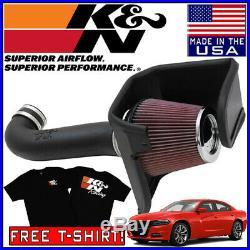 K&N FIPK Cold Air Intake System fits 2008-2015 Dodge Charger 5.7L / 6.1L SRT8