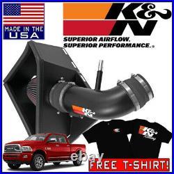 K&N FIPK Cold Air Intake System fits 2014-2018 Dodge Ram 2500 3500 6.4L V8