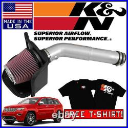K&N FIPK Cold Air Intake System fits 2016-2020 Jeep Grand Cherokee 3.6L V6
