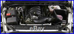 K&N FIPK Cold Air Intake System fits 2019-20 Silverado Sierra 1500 5.3L 6.2L V8