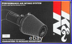 K&N FIPK Performance Cold Air Intake System fits 19-20 Hyundai Veloster 1.6L L4