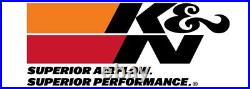 K&N Typhoon Cold Air Intake System fits 2014-2015 Audi A4 / A5 / A6 2.0L L4