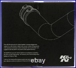 K&N Typhoon FIPK Cold Air Intake System fits 2008-2013 Infiniti G37 3.7L V6