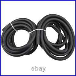 LS Conversion Fue 25ft AN6 Fuel Injection Line Hose -6AN Fitting Ends kit