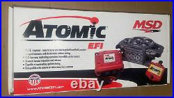MSD 2910 Atomic EFI Throttle Body Kit For Carburetor Conversion GM V8 New Sealed