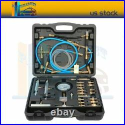 Professional 100Psi Master Fuel Injection Pressure Test Kit Tester Gauge Set