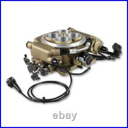 Sniper by Holley Fuel Injection System Kit 550-516K 650HP Self-Tuning TBI Gold