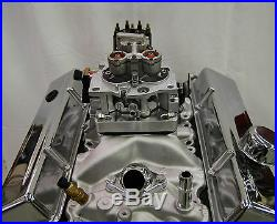 TBI Fuel Injection Kit Stock Small Block Chevy 350 5.7L WithLG Dist Base